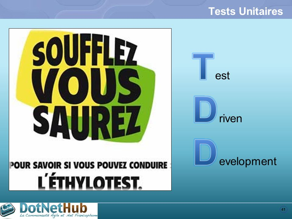 Tests Unitaires Test Driven Development