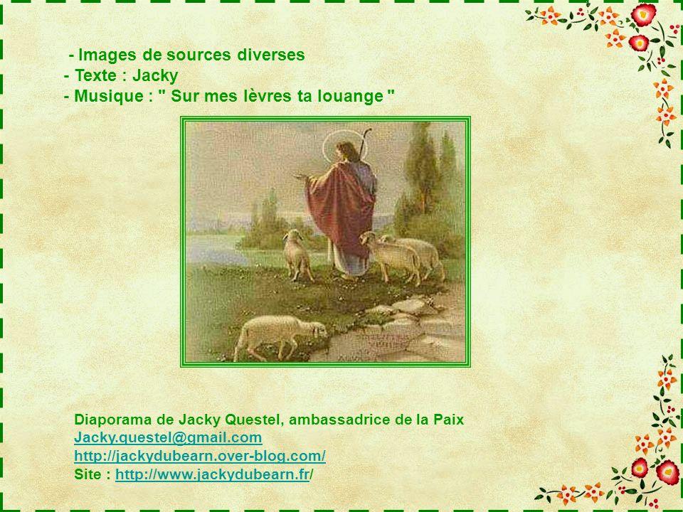 - Images de sources diverses - Texte : Jacky