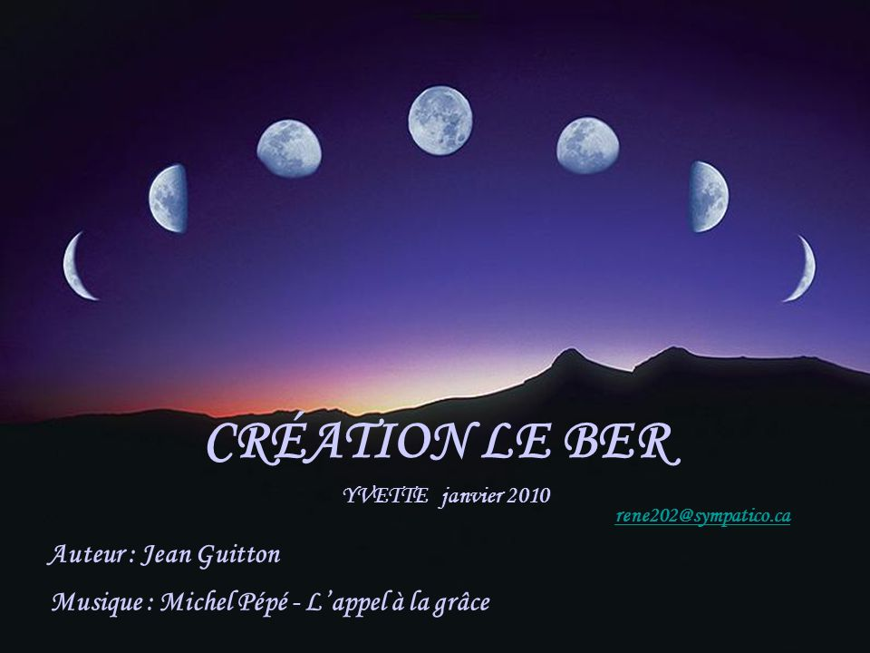 Musique : Michel Pépé - L'appel à la grâce