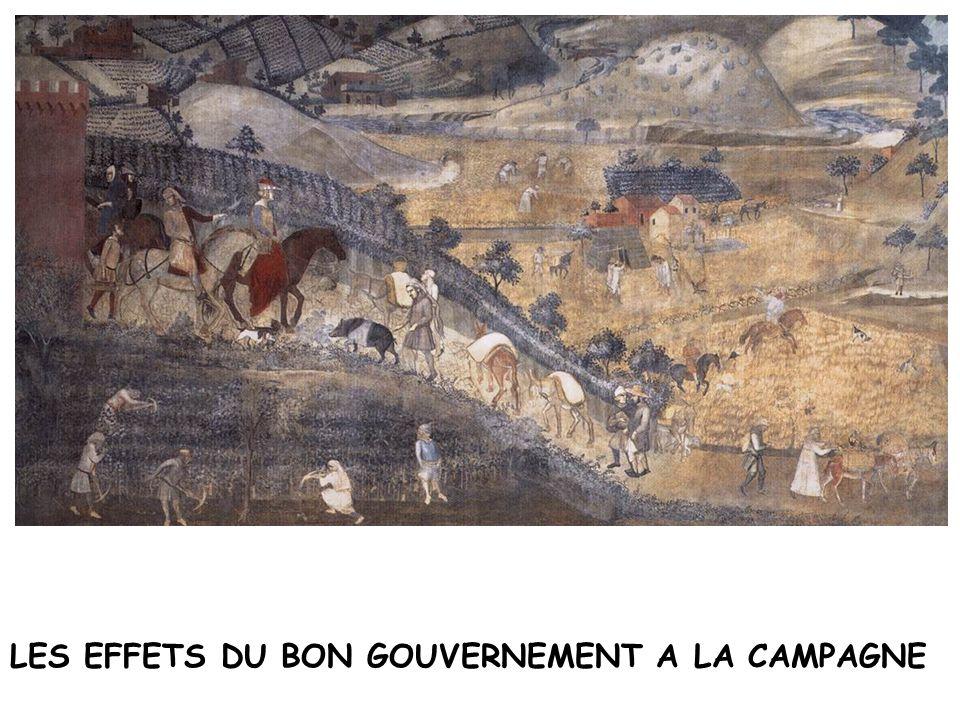 LES EFFETS DU BON GOUVERNEMENT A LA CAMPAGNE