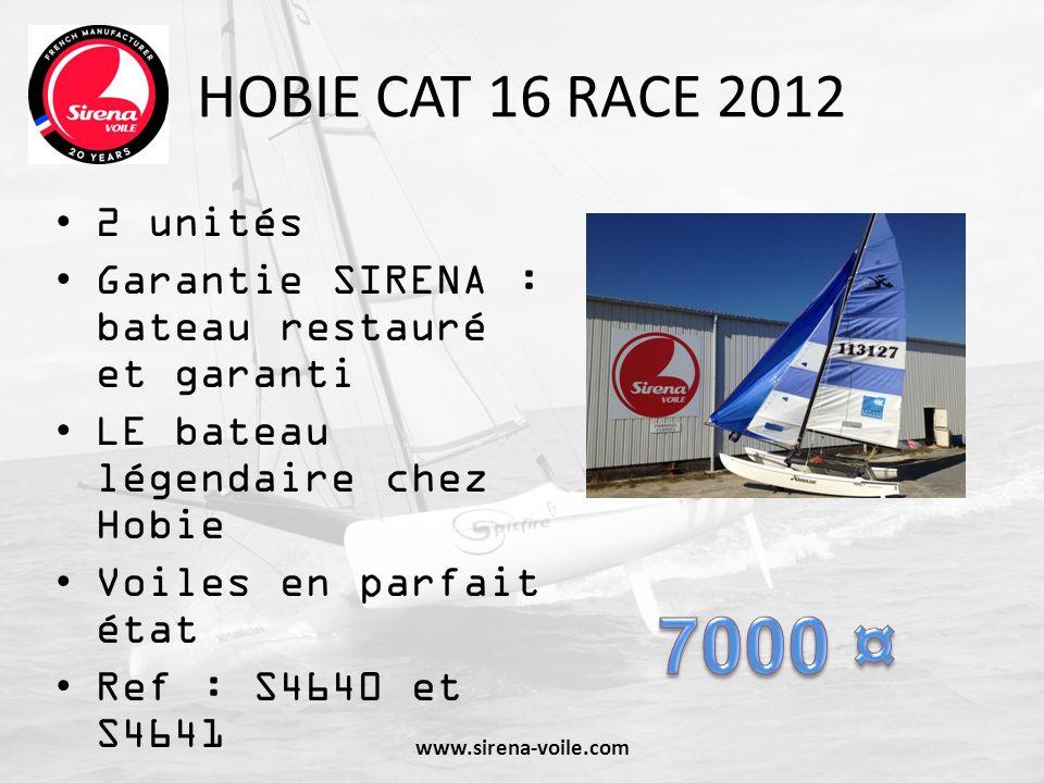 HOBIE CAT 16 RACE 2012 2 unités. Garantie SIRENA : bateau restauré et garanti. LE bateau légendaire chez Hobie.