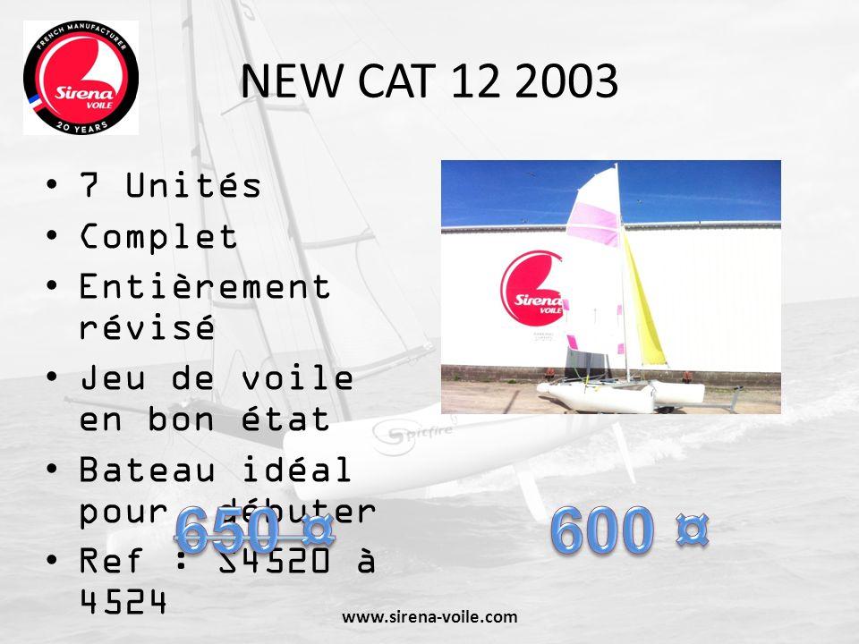 650 ¤ 600 ¤ NEW CAT 12 2003 7 Unités Complet Entièrement révisé