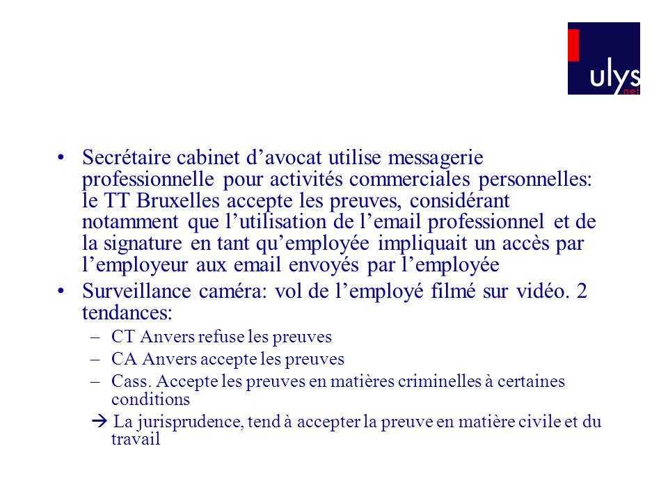 Surveillance caméra: vol de l'employé filmé sur vidéo. 2 tendances: