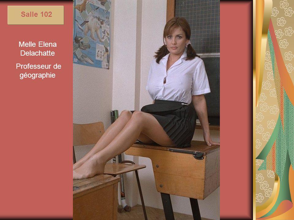 Melle Elena Delachatte Professeur de géographie