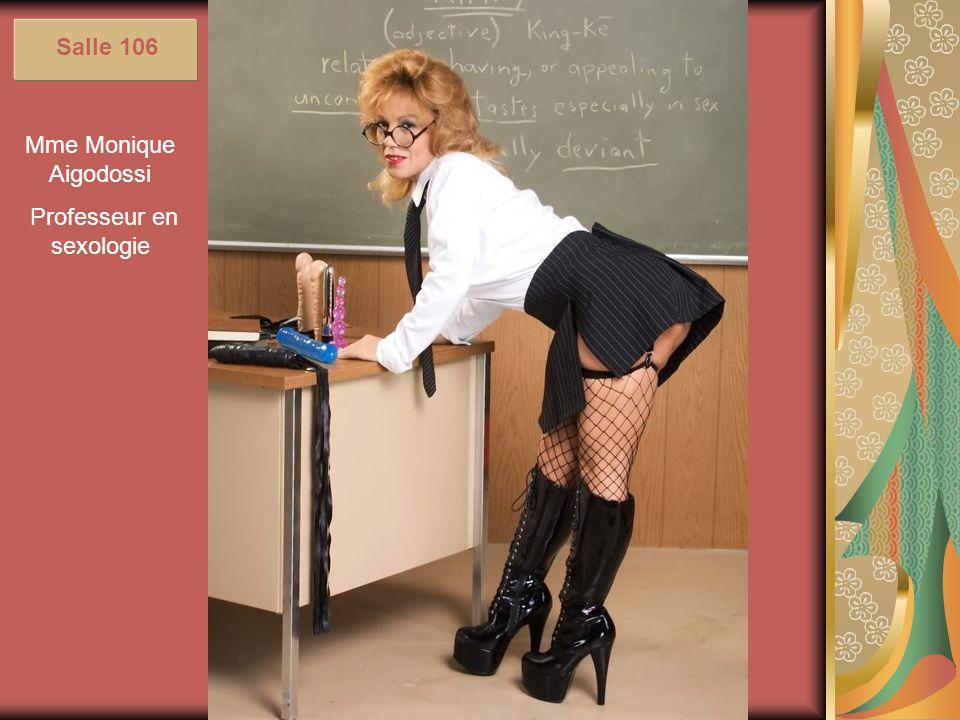 Professeur en sexologie