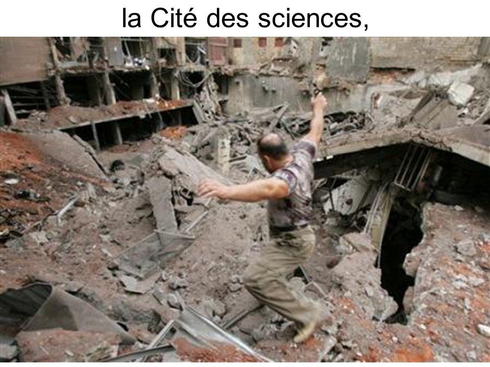 la Cité des sciences,