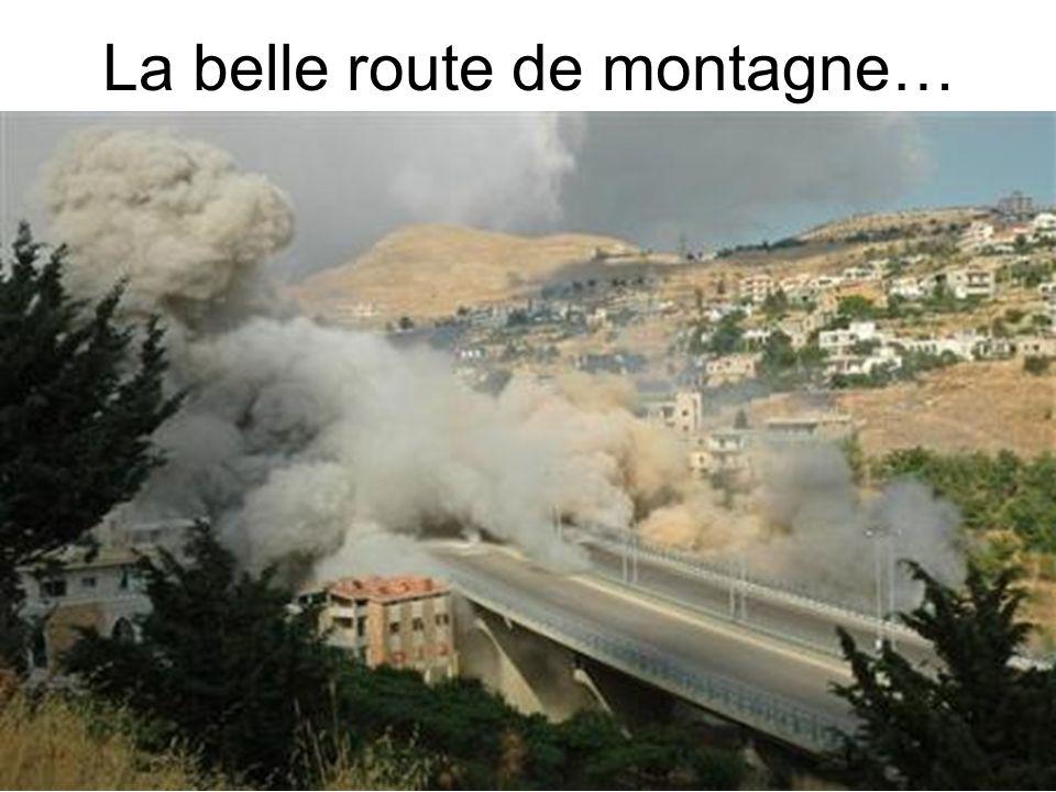 La belle route de montagne…