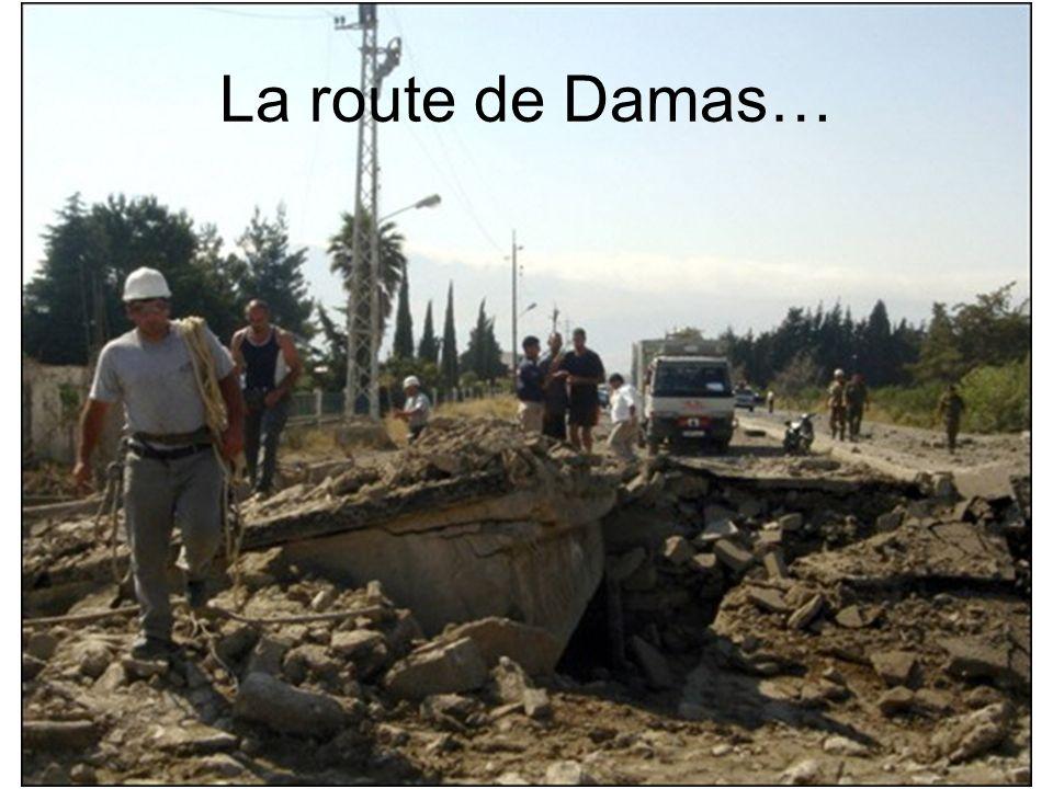 La route de Damas…