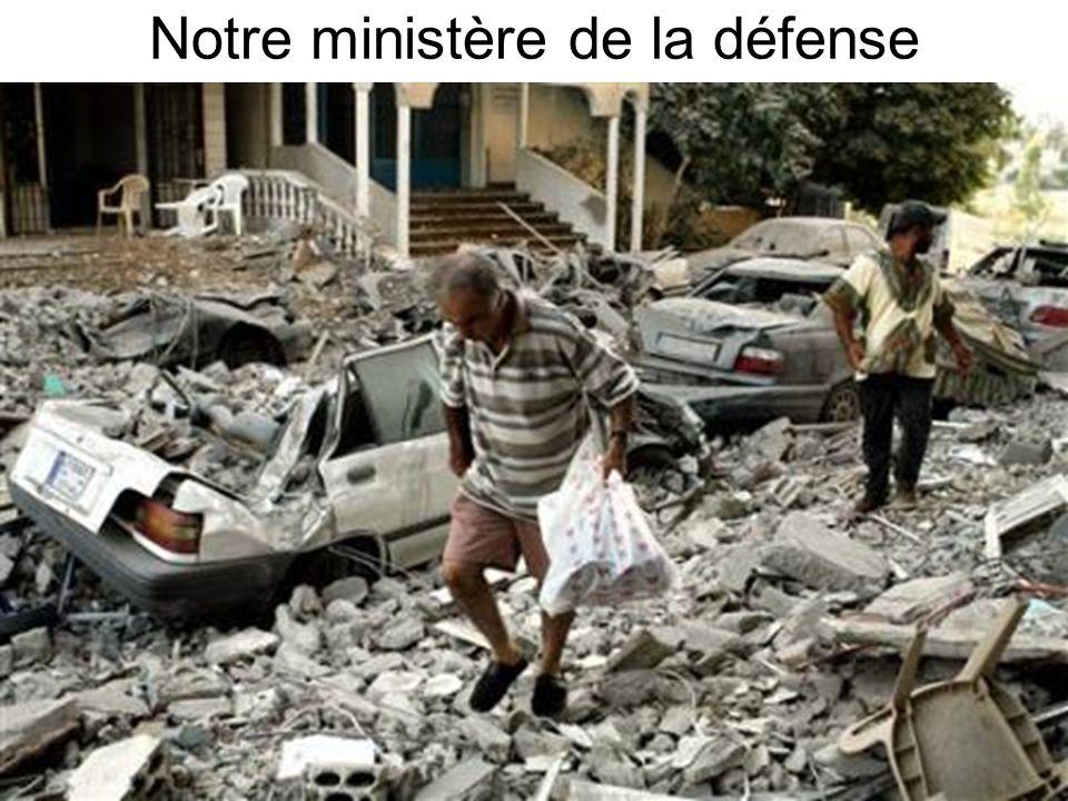 Notre ministère de la défense
