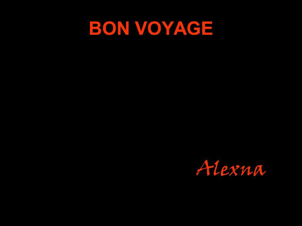 BON VOYAGE Alexna