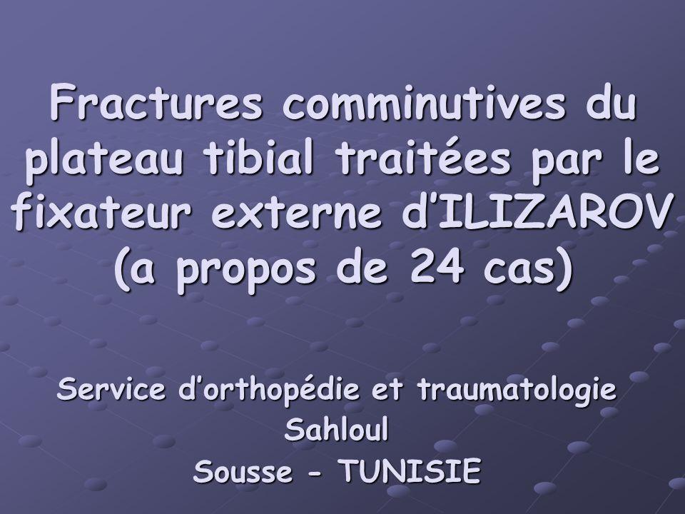Service d'orthopédie et traumatologie Sahloul Sousse - TUNISIE