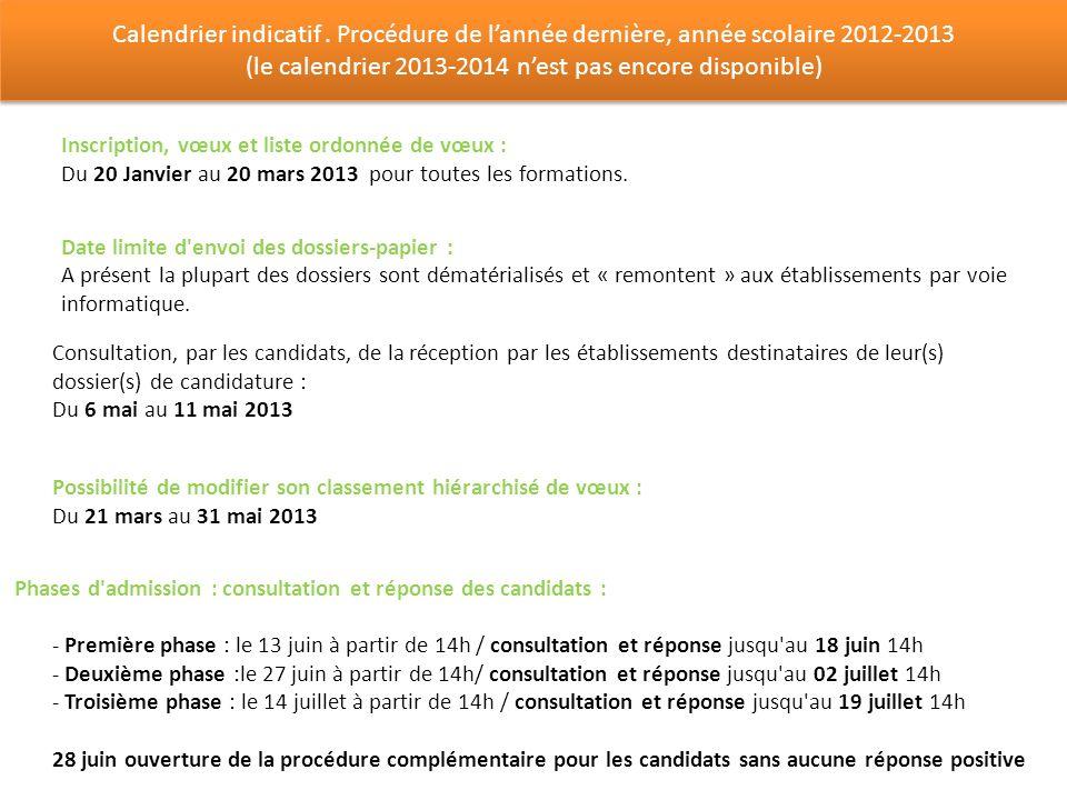 (le calendrier 2013-2014 n'est pas encore disponible)