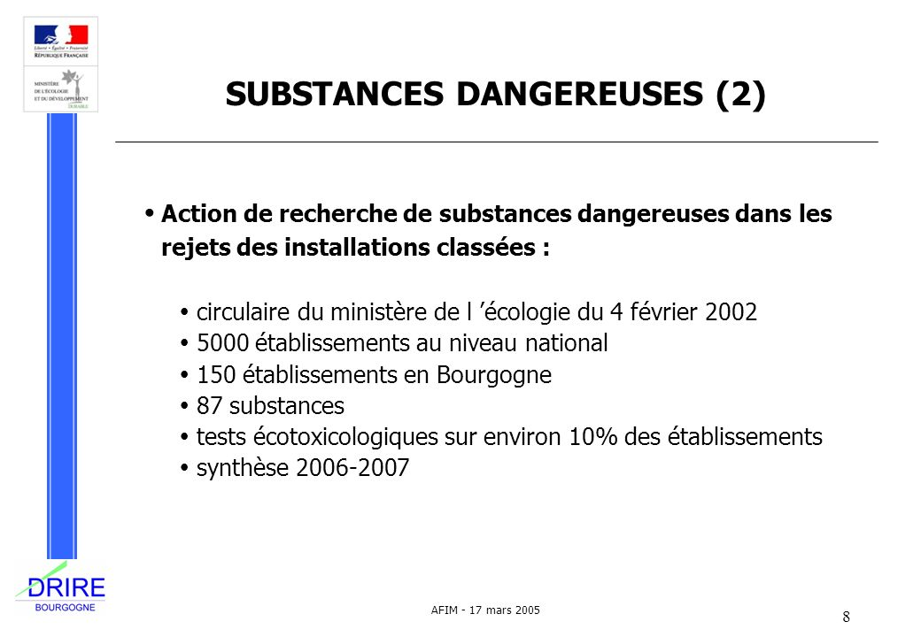 SUBSTANCES DANGEREUSES (2)