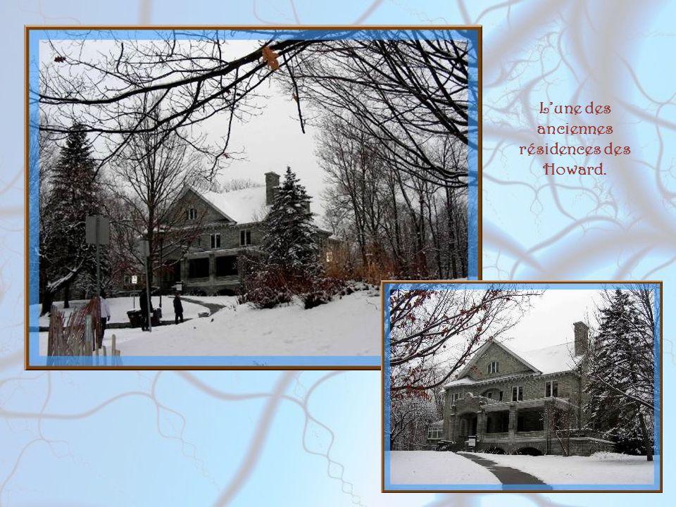 L'une des anciennes résidences des Howard.