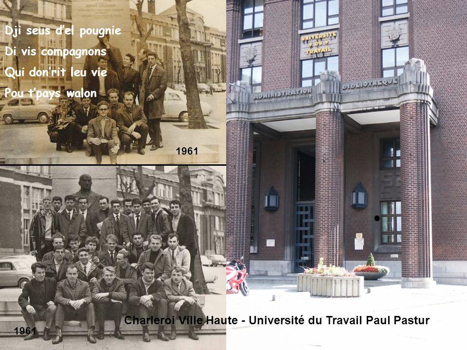 Charleroi Ville Haute - Université du Travail Paul Pastur
