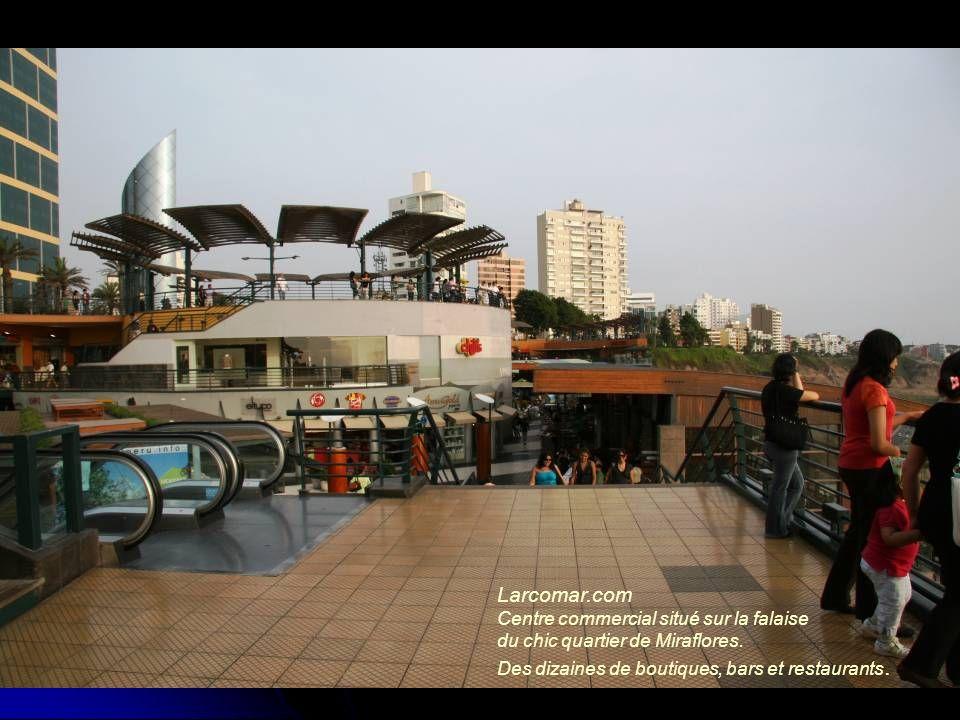 Larcomar.com Centre commercial situé sur la falaise