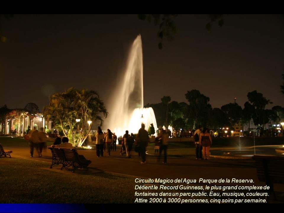 Circuito Magico del Agua Parque de la Reserva.