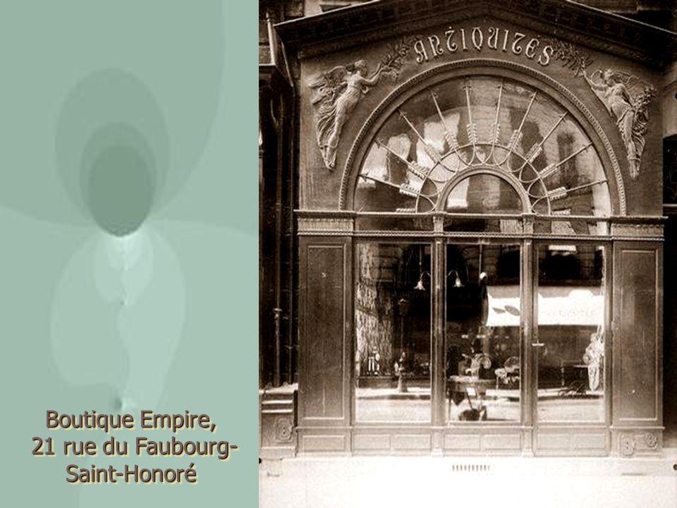 21 rue du Faubourg-Saint-Honoré