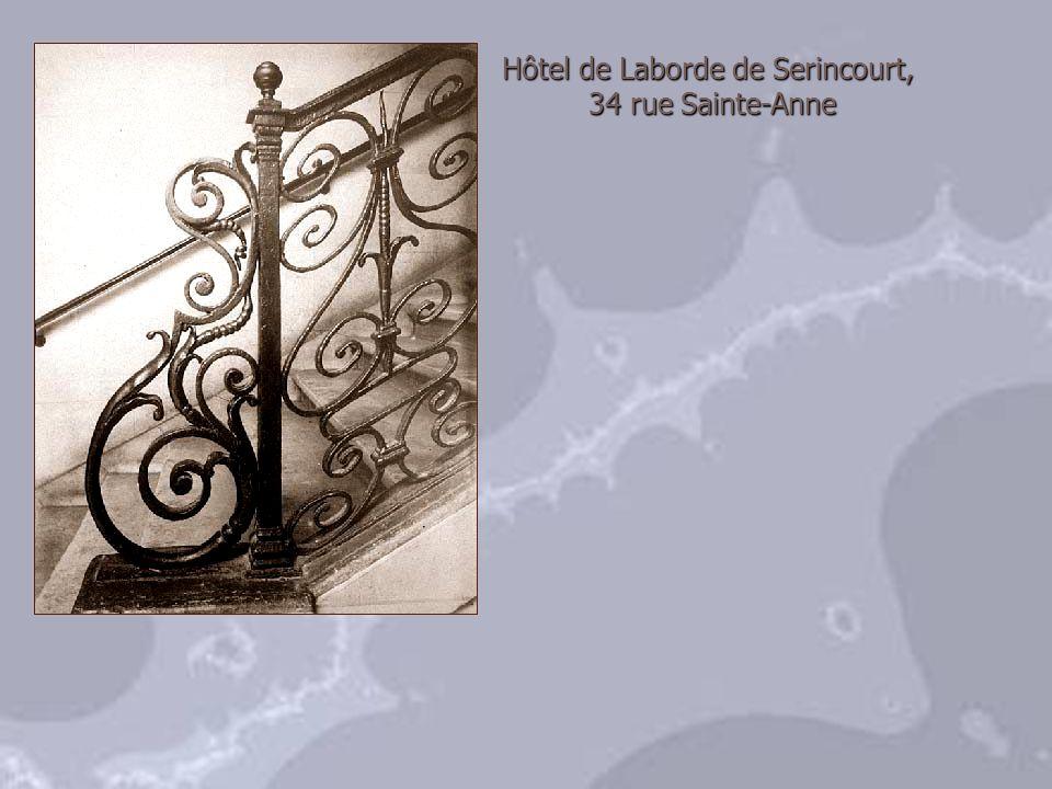 Hôtel de Laborde de Serincourt,
