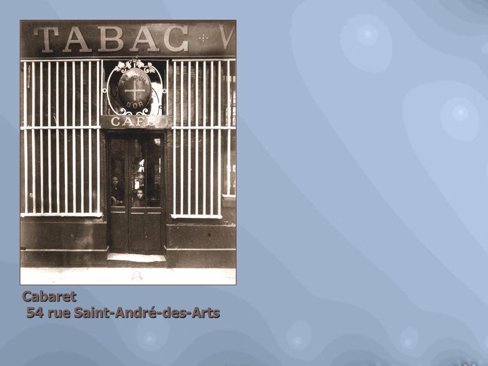 Cabaret 54 rue Saint-André-des-Arts