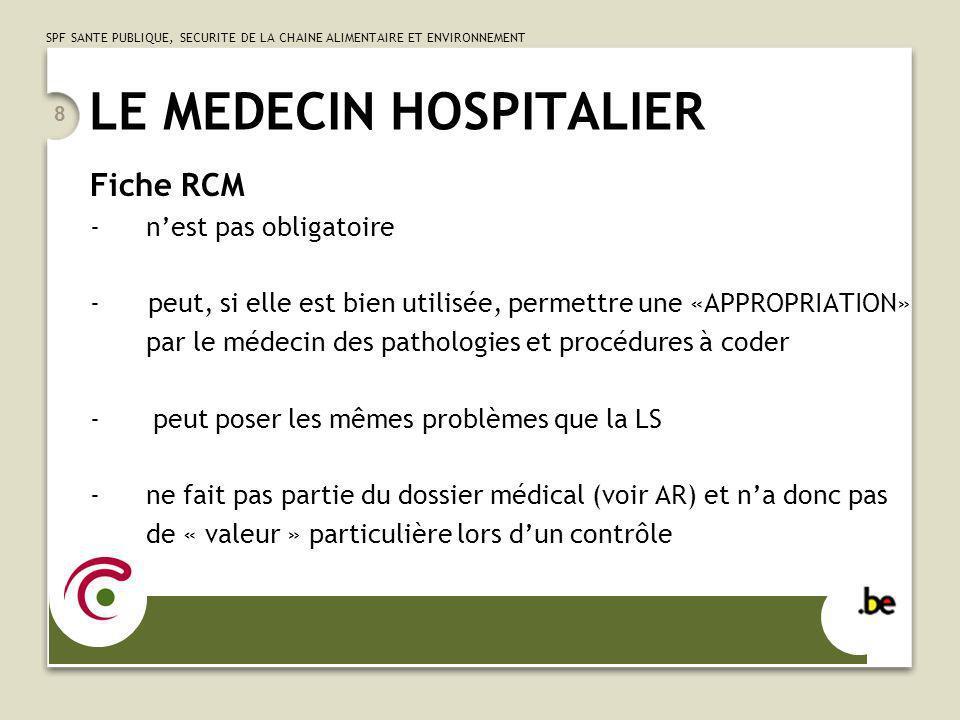 LE MEDECIN HOSPITALIER