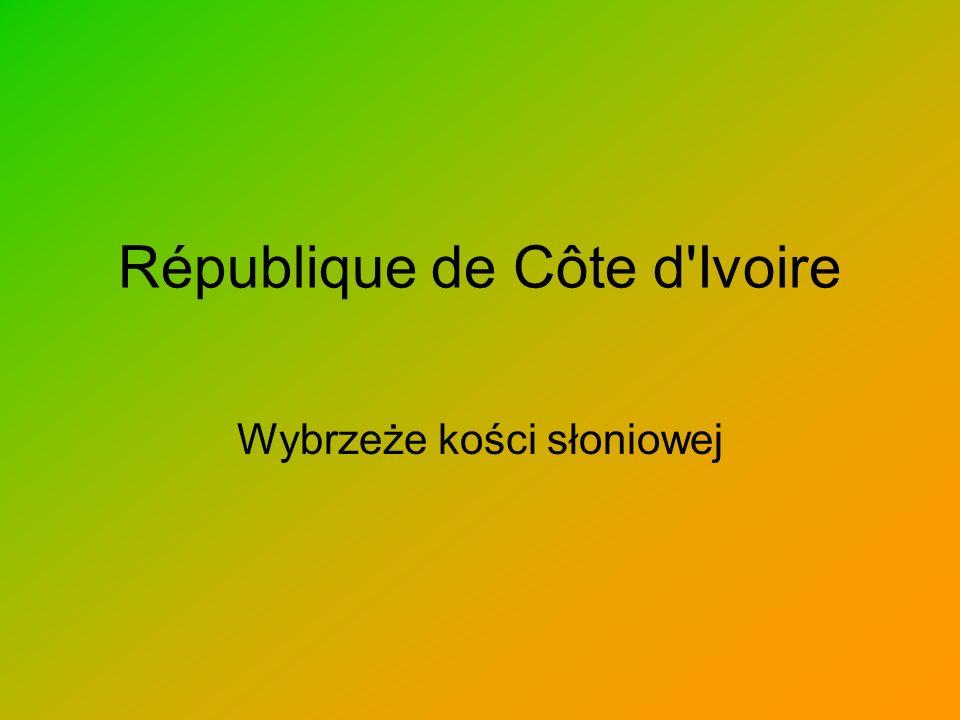 République de Côte d Ivoire