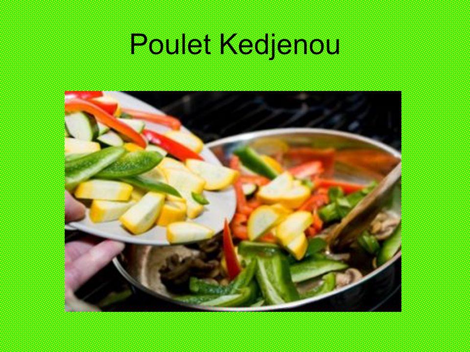 Poulet Kedjenou