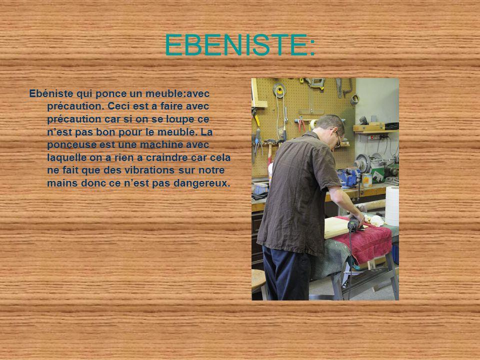 EBENISTE: