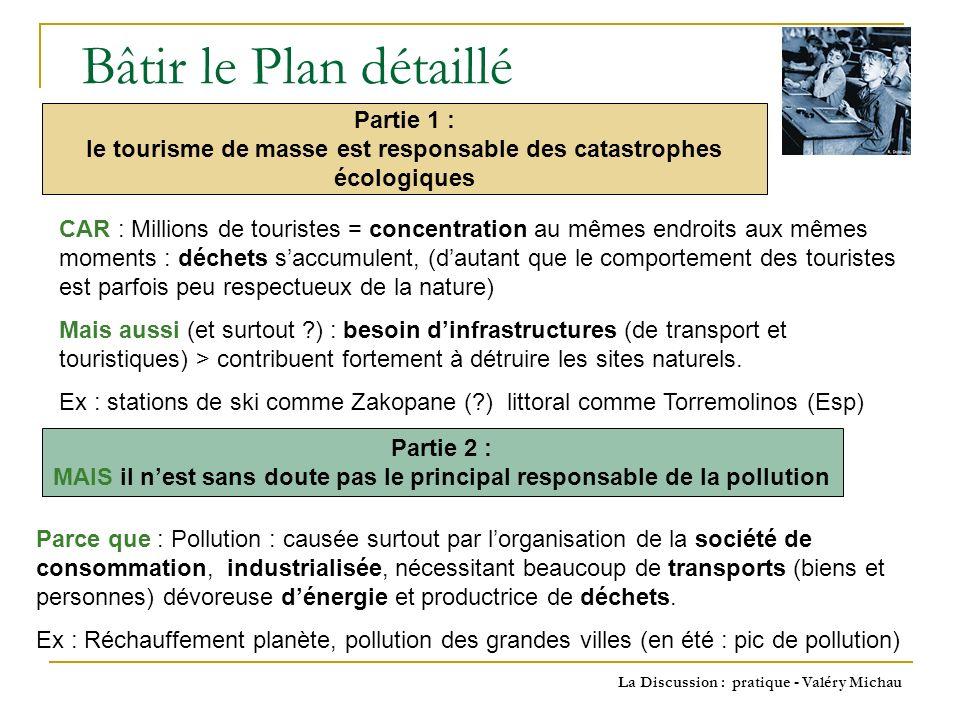 Bâtir le Plan détaillé Partie 1 :