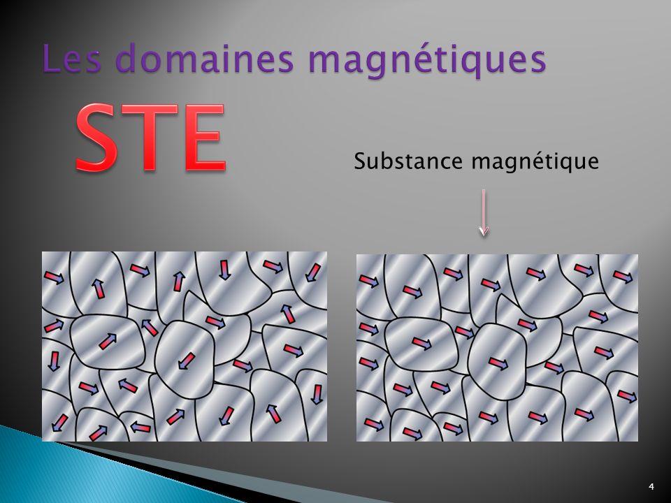 Les domaines magnétiques
