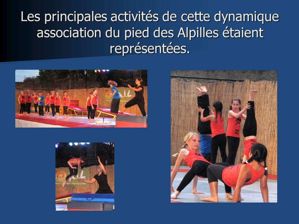 Les principales activités de cette dynamique association du pied des Alpilles étaient représentées.
