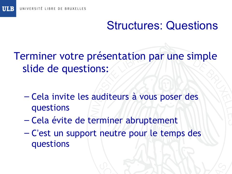 Structures: Questions