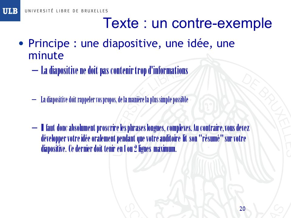 Texte : un contre-exemple