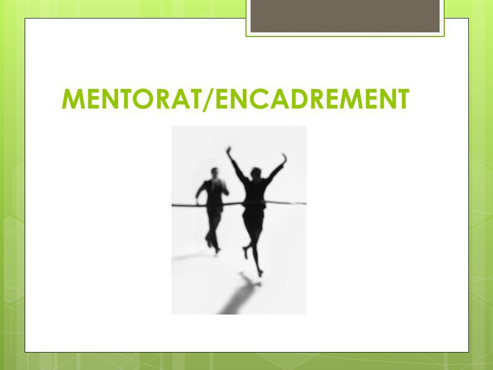 MENTORAT/ENCADREMENT