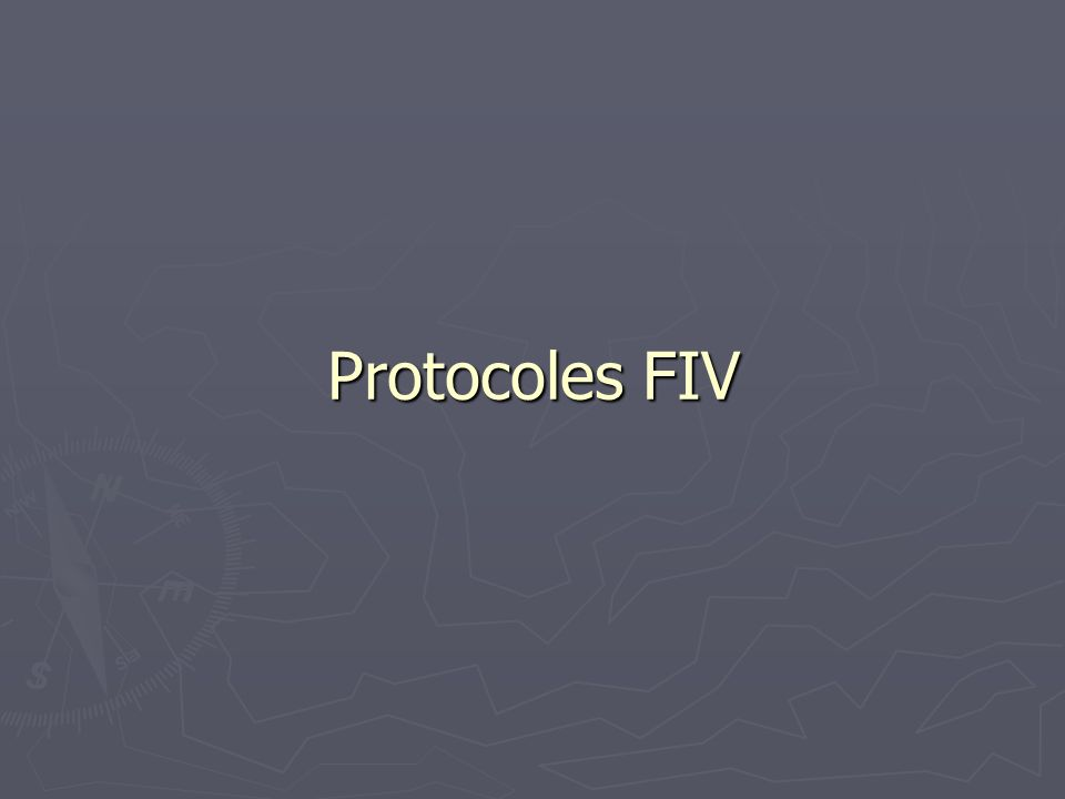 Protocoles FIV