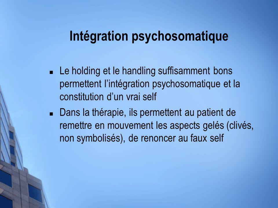 Intégration psychosomatique