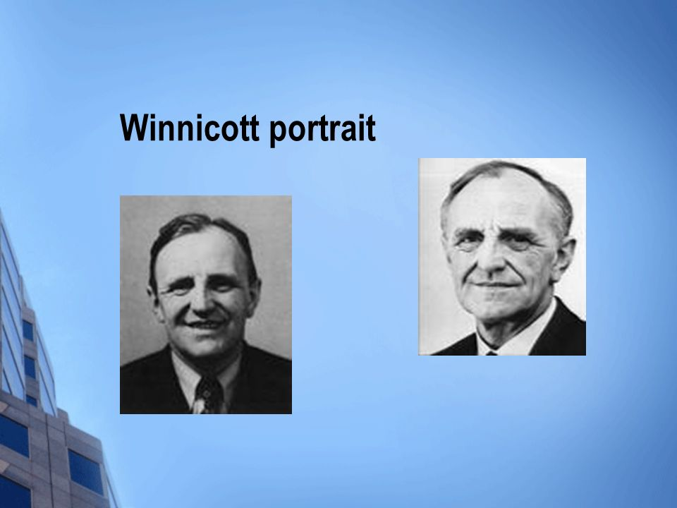 Winnicott portrait