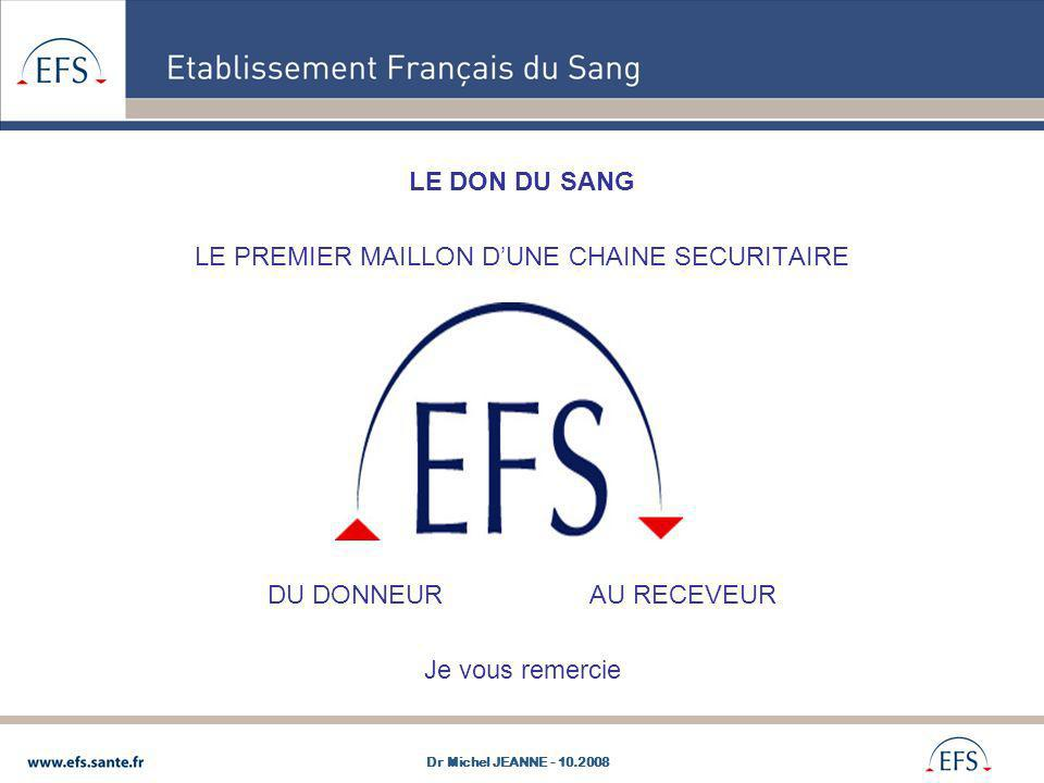 LE PREMIER MAILLON D'UNE CHAINE SECURITAIRE