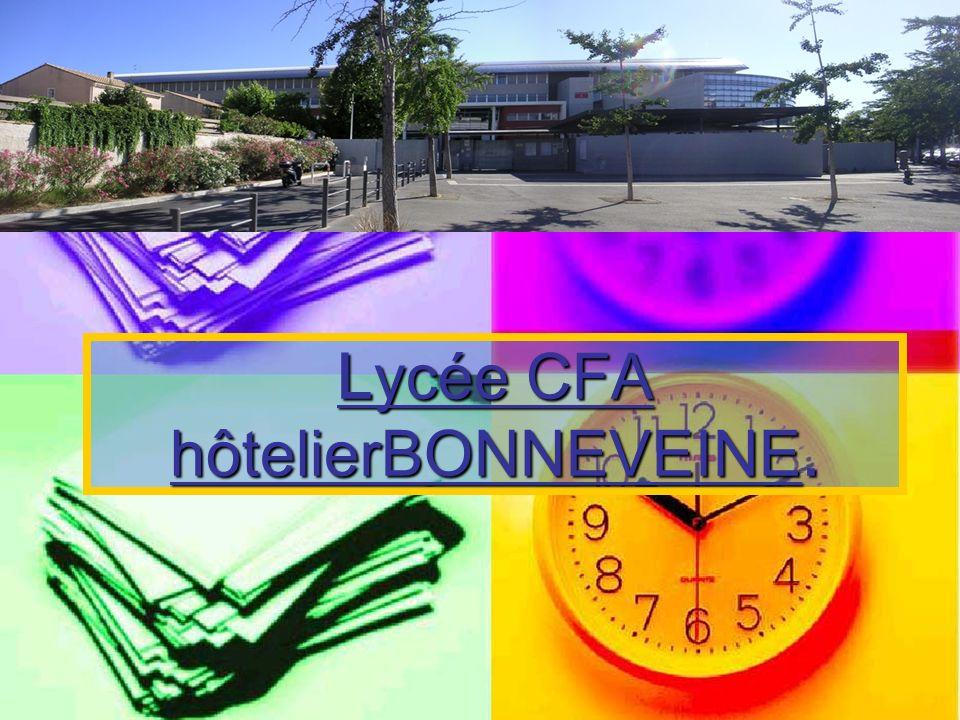 Lycée CFA hôtelierBONNEVEINE.