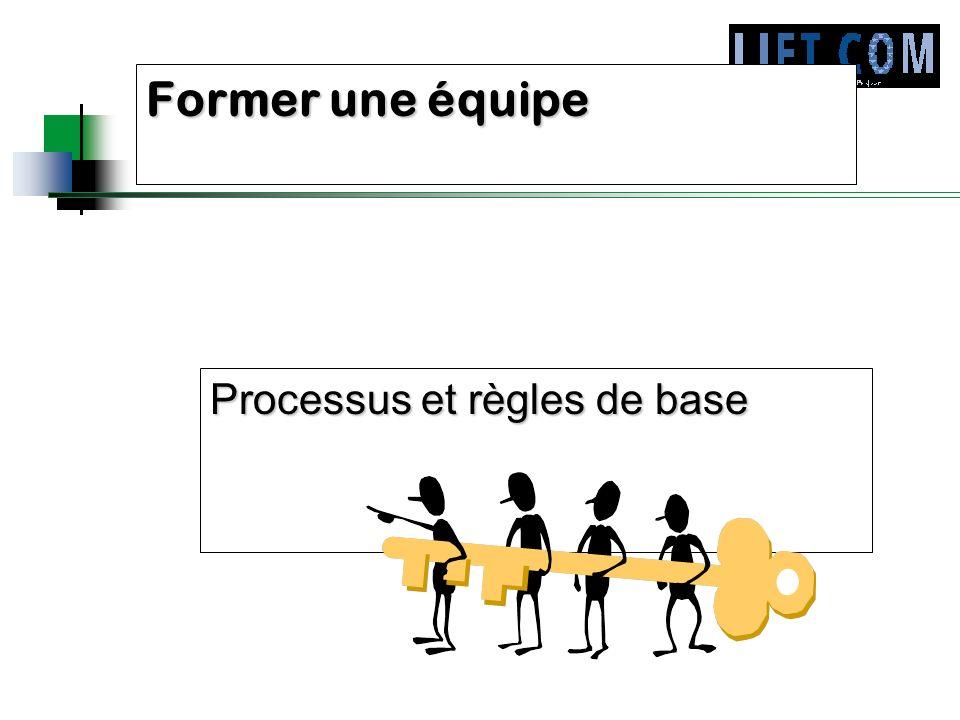Processus et règles de base