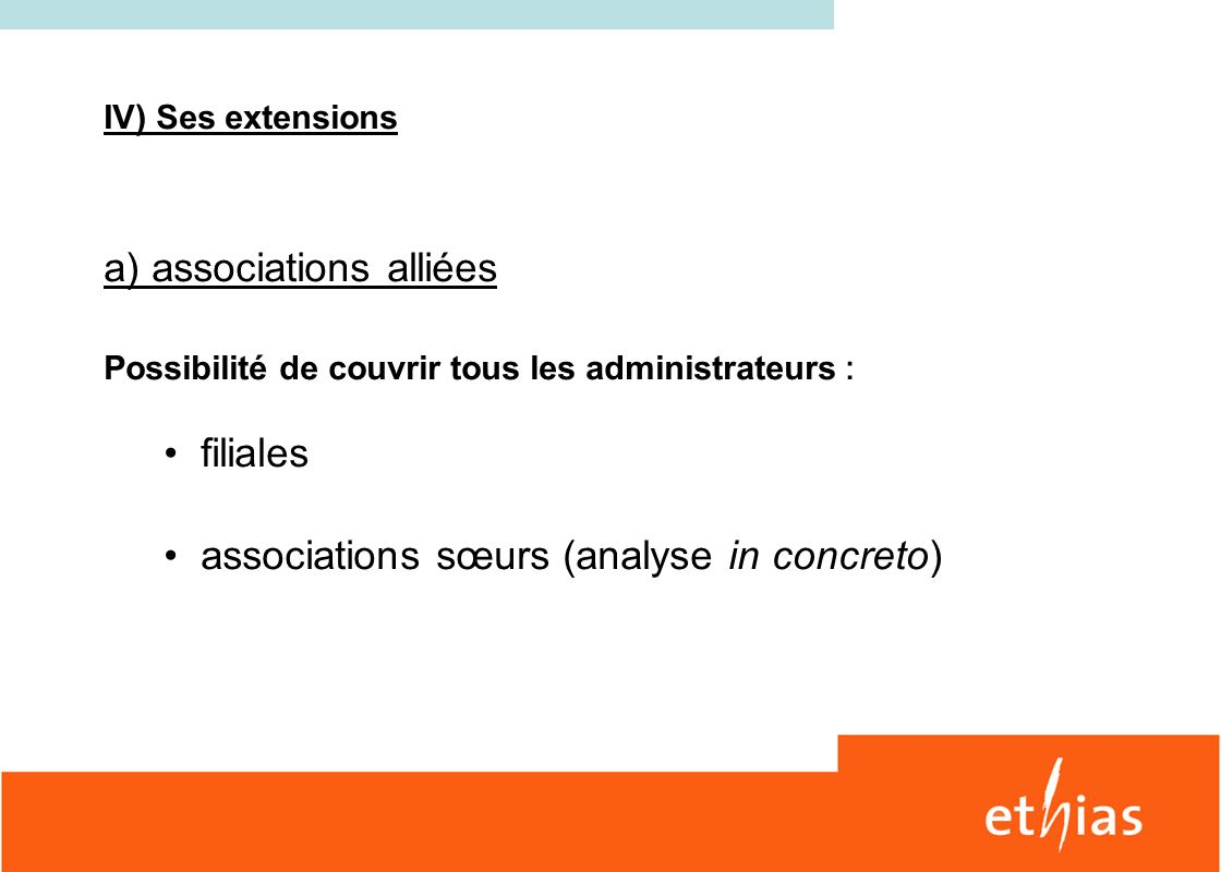 a) associations alliées
