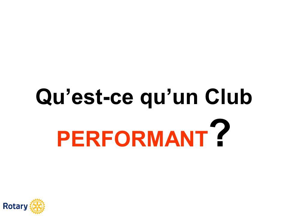Qu'est-ce qu'un Club PERFORMANT