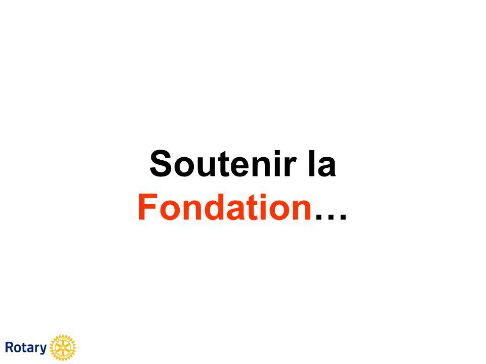 Soutenir la Fondation…