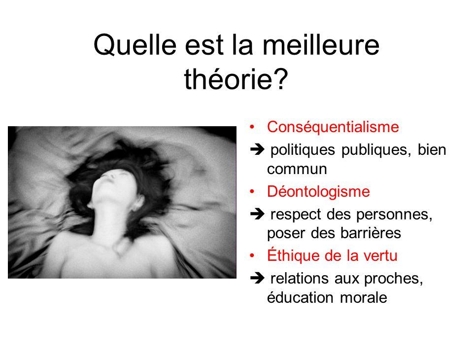 Quelle est la meilleure théorie
