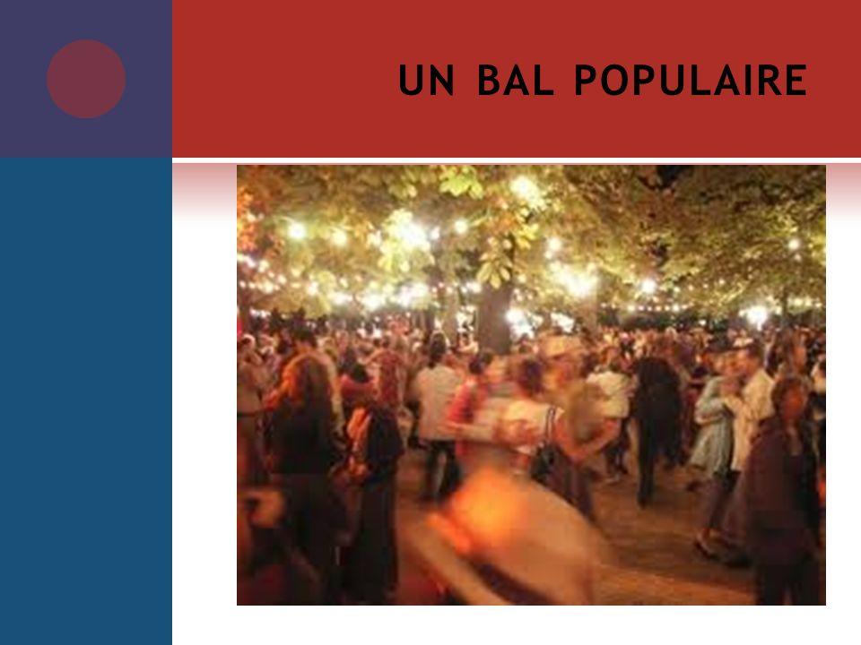 un bal populaire