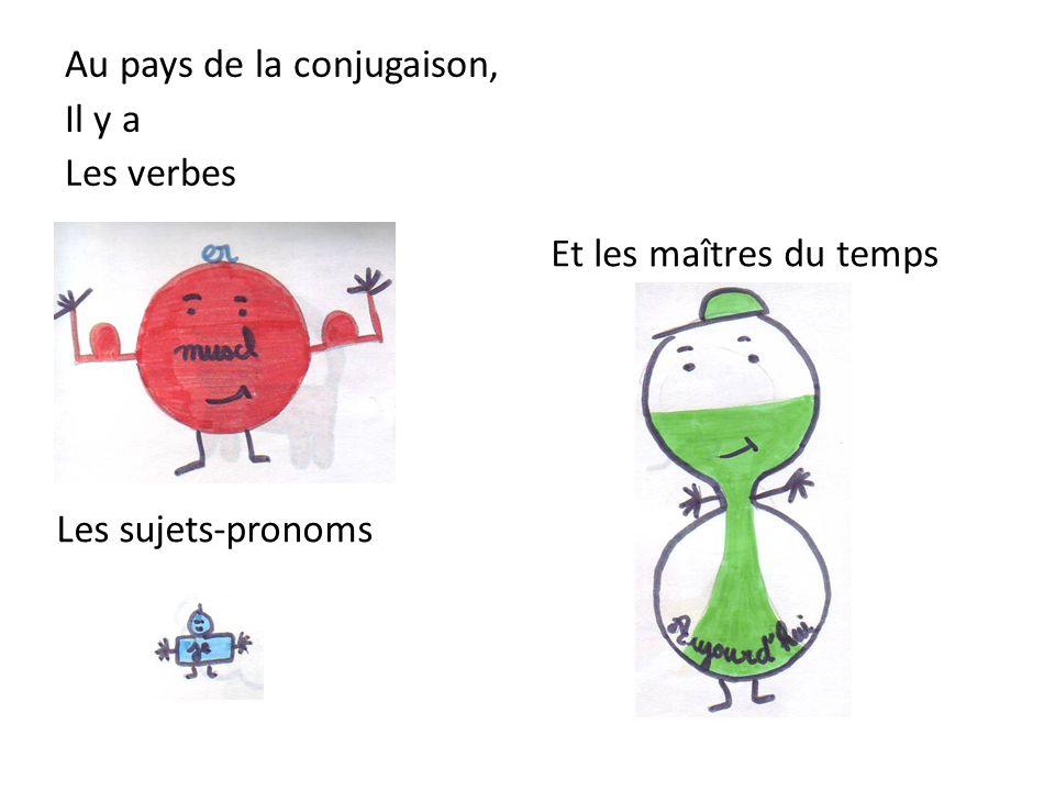Au pays de la conjugaison, Il y a Les verbes