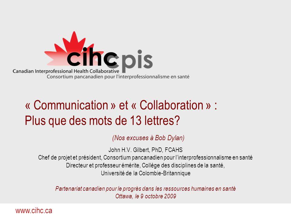 « Communication » et « Collaboration » : Plus que des mots de 13 lettres (Nos excuses à Bob Dylan)