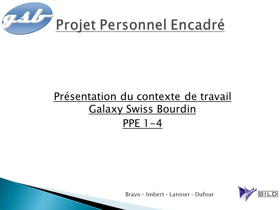 Projet Personnel Encadré
