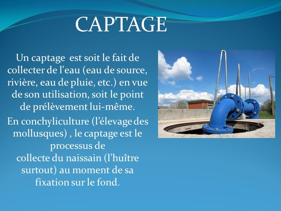 CAPTAGE