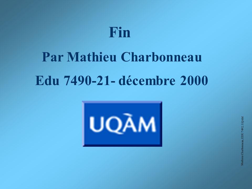 Par Mathieu Charbonneau